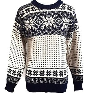 Vintage Dale of Norway Ski Sweater 36/S